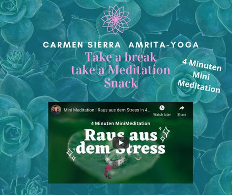 Mini Meditation Carmen Sierra Amrita-Yoga