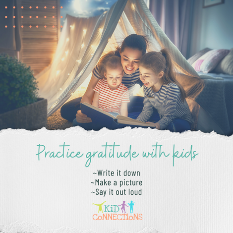 practice gratitude with kids