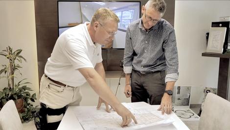 Planung und Realisierung der Bauvorhaben mit verlässlichen regionalen Partner