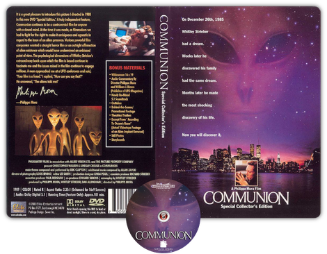 Communion - Copertina DVD + CD