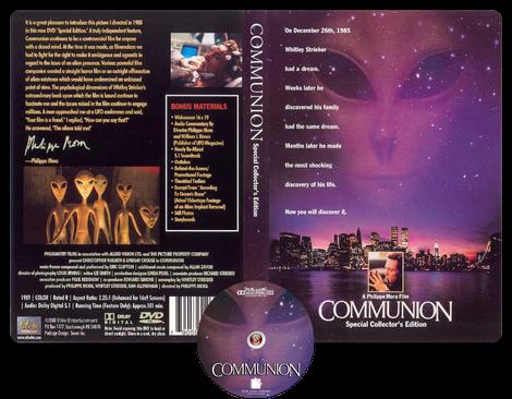 Communion - Copertina DVD + CD