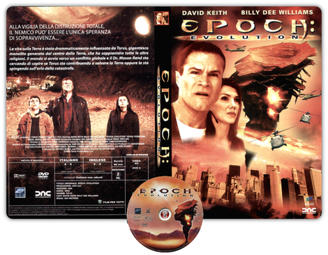 Epoch evolution - Copertina DVD + CD