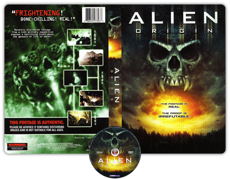 Alien origin - Copertina DVD + CD