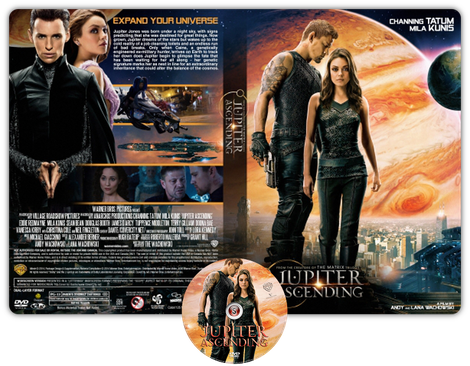 Jupiter ascending - Copertina DVD + CD