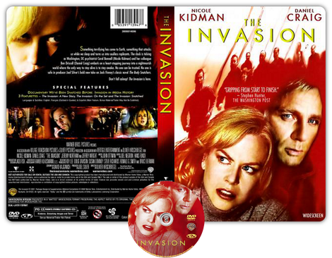 The Invasion - Copertina DVD + CD