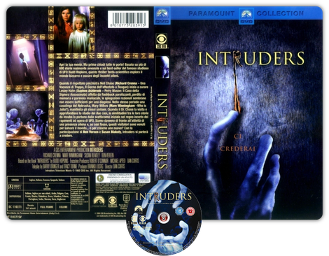 Intruders Copertina - DVD + CD