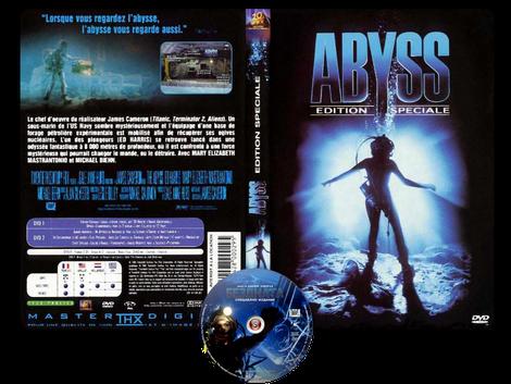 The abyss - Copertina DVD + CD