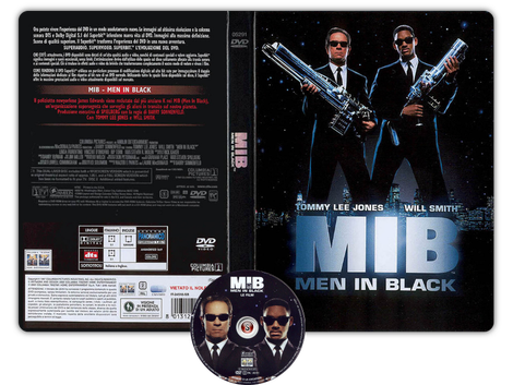 Men in black Copertina DVD + CD