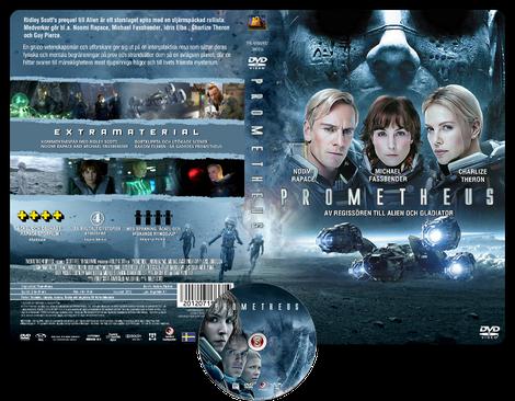 Prometheus - Copertina DVD + CD