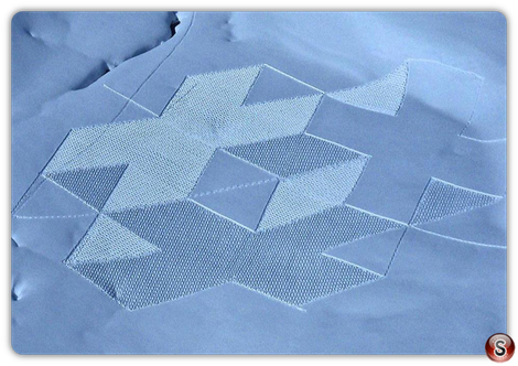 Cerchi sulla neve di Simon Beck
