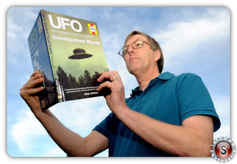 Nigel Watson author of UFO Investigations Manual