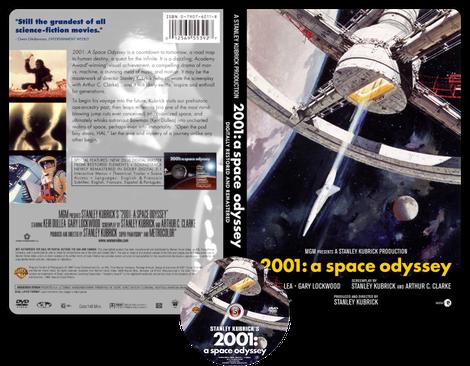 2001: odissea nello spazio - Copertina DVD + CD