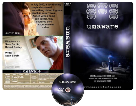 Unaware Copertina DVD + CD