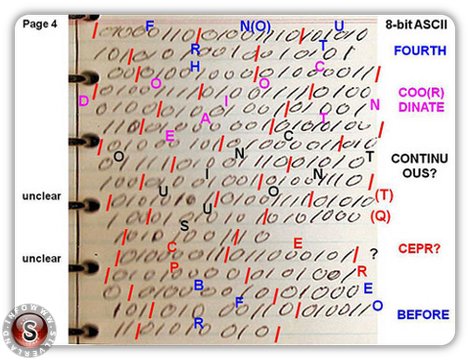 Rendlesham code binary page 4
