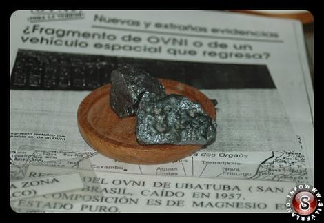 Uno dei presunti frammenti di Ubatuba