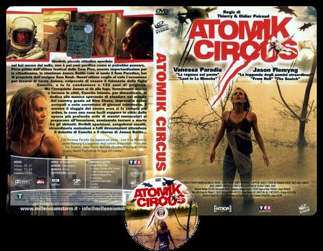 Atomik Circus - Copertina DVD + CD