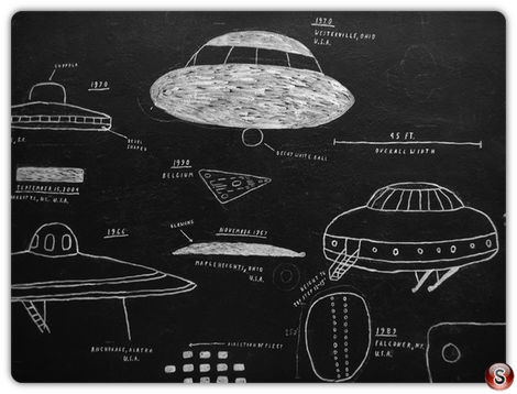 Brian Rea mural Ufo