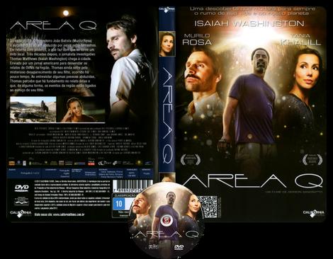 Area Q. - Copertina DVD + CD