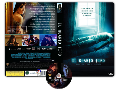Il quarto tipo - The Fourth Kind - Copertina DVD + CD