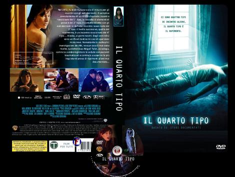 Il quarto tipo - The Fourth Kind - Copertina DVD + CD