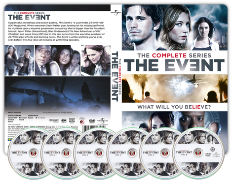 The event  Copertina DVD + CD