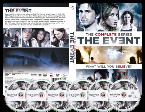 The event  Copertina DVD + CD