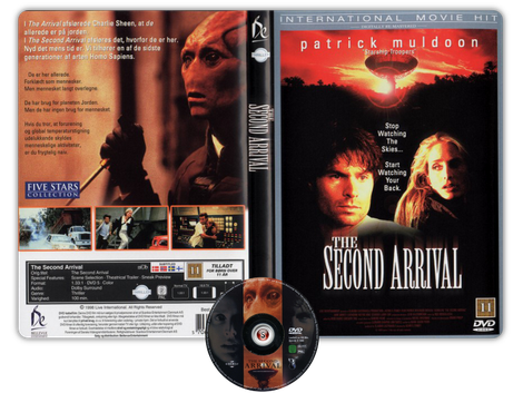 The second arrival - Copertina DVD + CD