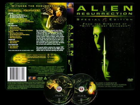 Alien La clonazione - Alien resurrection - Copertina DVD + CD