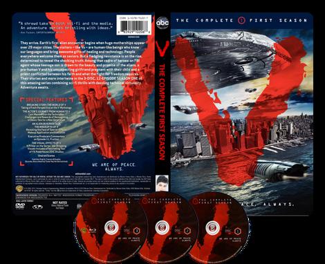 V  Copertina DVD + CD