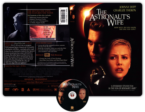The Astronaut's Wife - Copertina DVD +CD
