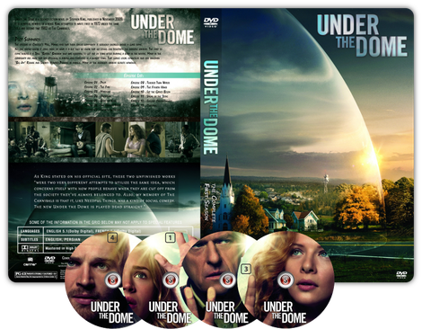 Under the dome Copertina DVD + CD