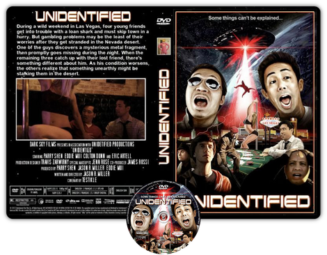 Unidentified - Cover DVD + CD