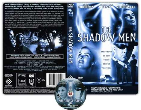 Ombre aliene - The shadow men Copertina DVD + CD