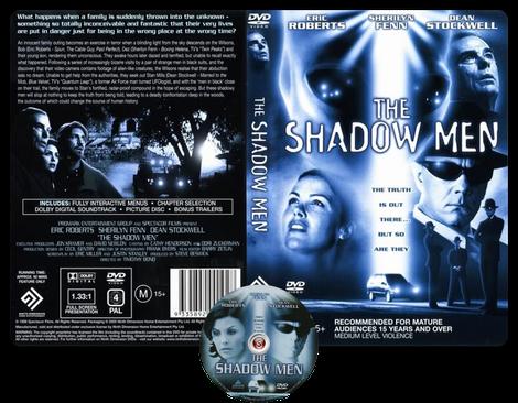 Ombre aliene - The shadow men Copertina DVD + CD