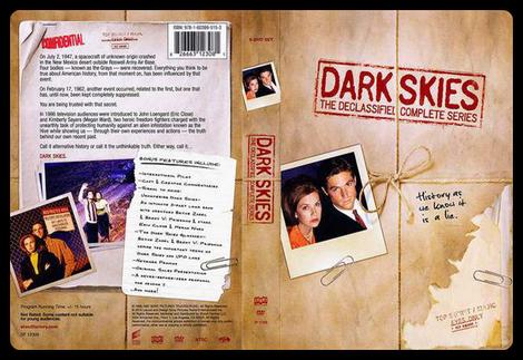 Dark Skies Copertina DVD