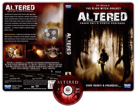 Altered - Copertina DVD + CD