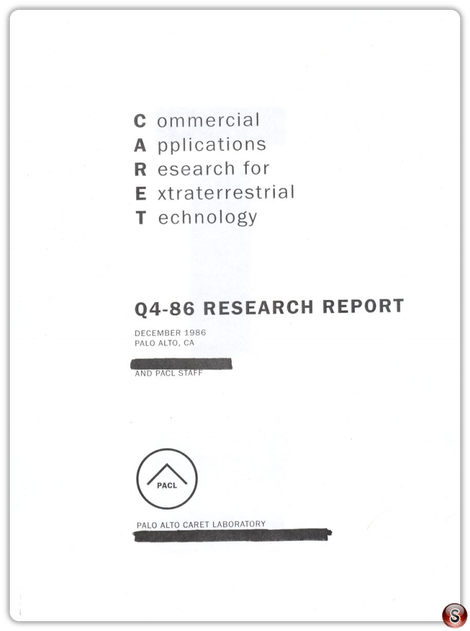 Caret Program - PACL Q4-86 Report Cover