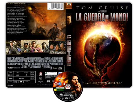 La guerra dei mondi - War of the Worlds - Copertina DVD + CD