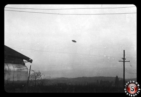 UFO fotografato a McMinnville Oregon 1950