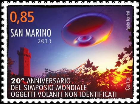 20° Anniversario del Simposio Mondiale ofggetti volanti non identificati 0.85 cent
