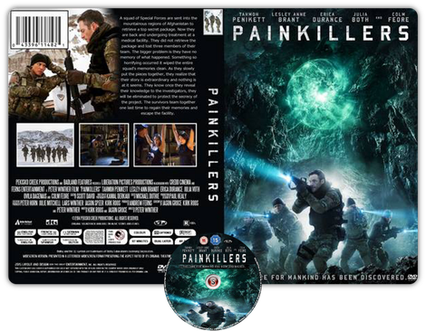 Painkillers - Copertina DVD + CD