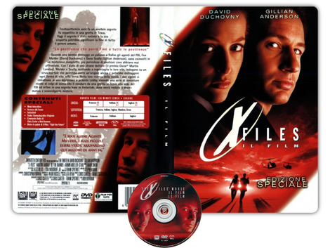 X Files Il film - Copertina DVD + CD