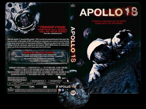 Apollo 18 - Copertina DVD + CD