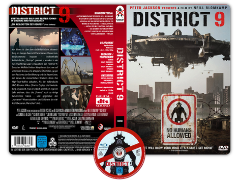 District 9 - Copertina DVD + CD