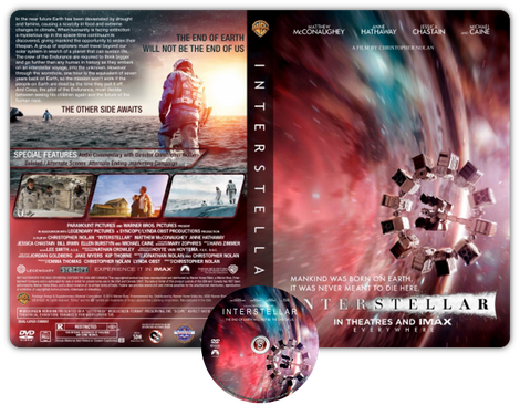 Interstellar - Cover DVD + CD