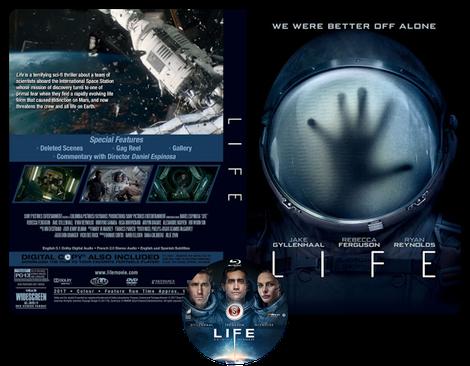 LIFE - Copertina DVD + CD