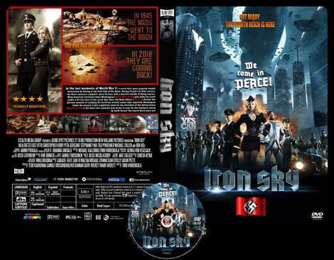 Iron Sky - Copertina DVD + CD