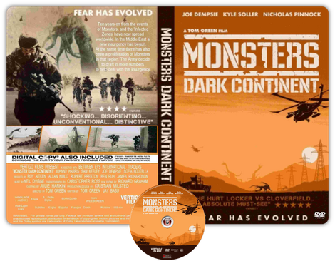 Monsters Dark Continent - Cover DVD