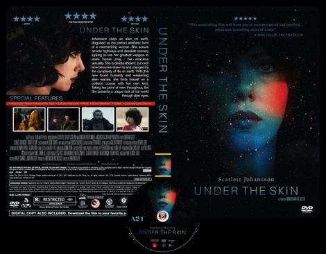 Under the skin - Locandina - Poster