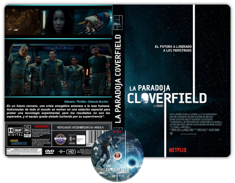 The Cloverfield Paradox - Copertina DVD + CD